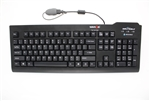 Silver Seal Waterproof Backlit Keyboard -  (Tap & Go) (USB) (Black) | SSKSV207GRC13.56