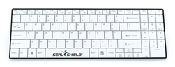 Used for Infection Control & Equipment Protection, the Clean-Wipe Medical RF Wireless Keyboard SSKSV099W can be cleaned by washing with soap and water, sanitized or disinfected.