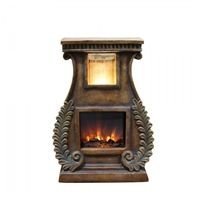Fern Fireplace Fountain