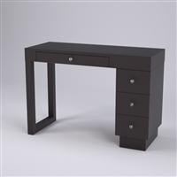 Linea Manicure Table - Three Drawers