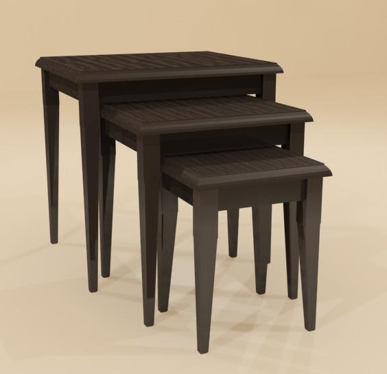 Merlot Nesting Tables