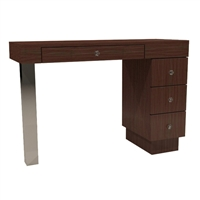Tory Manicure Table - Three Drawers