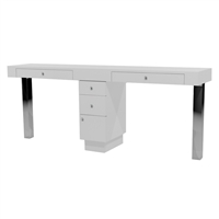 Tory Double Nail Table - Two Drawers