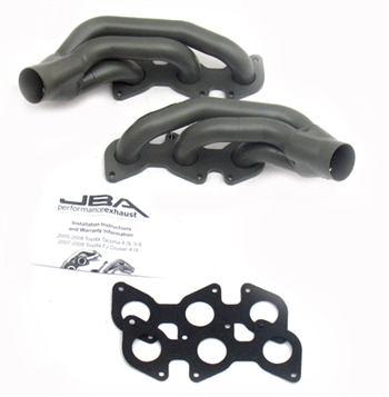 JBA Performance Exhaust Headers Shorty Stainless Steel Exhaust Header for Toyota Tacoma 4.0L 05-11 JBA-2035SJT