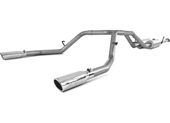 MBRP Exhaust Cat Back, Dual Split Rear, Installer-Series, 2009-2017 Tundra 5.7L V8
