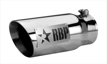 "RBP TIP 4"" TO 5"" X 12L"" 304 SS DOUBLE WALL TIP, TWO TONE LOGO RBP-45122D"
