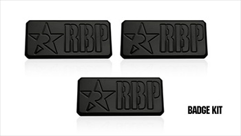 RBP Black RBP Badge Kit RBP-955006