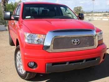 T-Rex Mesh Grille Toyota Tundra Upper Class Polished Stainless Mesh Grille - 1 Pc T-REX-54959