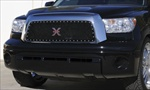 T-Rex Mesh Grille Toyota Tundra X-METAL Series - Studded Main Grille - All Black T-REX-6719591