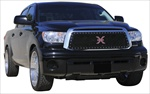 T-Rex Billet Grille Toyota Tundra (Except Limited) X-METAL Series - Studded Main Grille - ALL Black T-REX-6719631