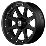 XD798 Addict Black 18x9