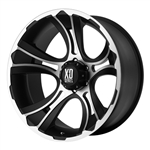 XD801 Crank Black & Machined 20x9