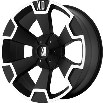 XD803 Thump Black & Machined 20x9