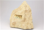 Pet Limestone Rock Urn Large