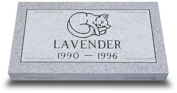 Standard Pet Grave Marker 20 X 10 X 3
