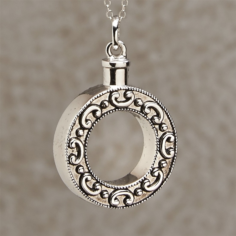 celebration of life cremation pendant by everlife memorials
