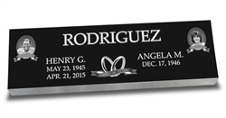 Companion Laser Engraved Headstone