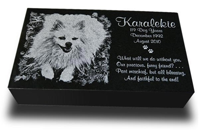 Medium Premium Pet Marker 10 x 6