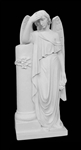 "34"" Angel With Column"