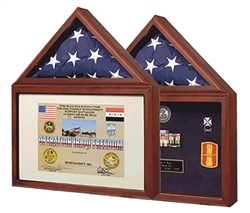 Capitol Flag & Certificate Display Case