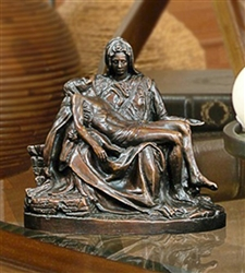 The Pieta Bronze Keepsake Urn