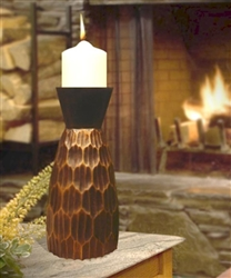 The Woodland Candle Bronze Urn