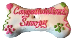 Congratulations Dog Cake Treats