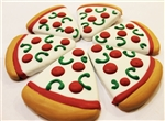 Pizza Slice Dog Cookies