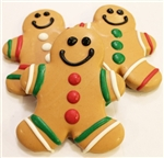 Gingerbread Men Dog Cookies Treats
