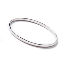 Palladium Bangle Bracelet, 4mm, 5mm & 6mm Widths