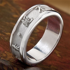 Chinese Symbol Ring, One Tone