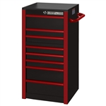 Extreme Tools 7-Drawer Box Black with Red Trim