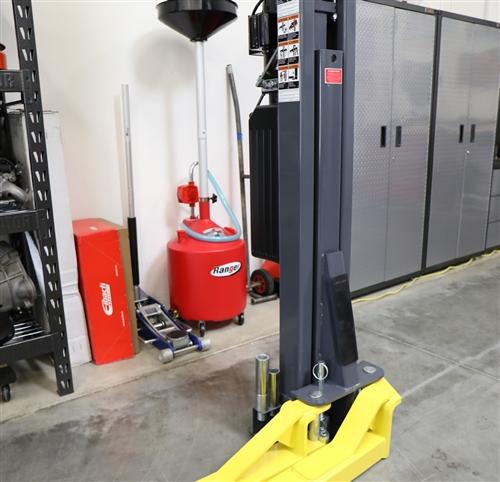 BendPak GrandPrix™ is a GP-7LCS 7,000-lb  capacity two-post car lift 106 5