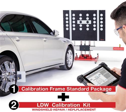 ADAS - Calibration Frame Standard Package Plus Lane Departure Warning (LDW)  Kit