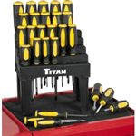Titan 26 Piece Screwdriver Set with Stand