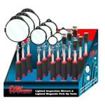 Ullman Devices Corp. ULLHTLTDISP 15 PC LED INSPECTION MIRROR & P/U TOOL DISPLAY