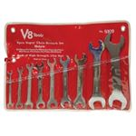 V-8 Tools V8T8109 - WRE SET 9PC SUPER THIN 18 SIZES