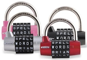 WordLock College Dorm Trunk Combination Lock