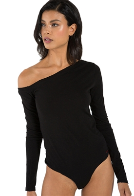 n:Philanthropy Melon Bodysuit in Black Cat