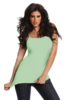Tees by Tina Solid Camisole in Celery