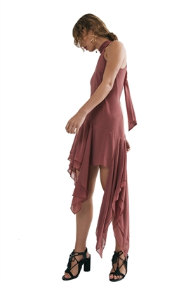 C/Meo Collective Take A Hold Dress in Desert Rose