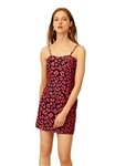 C/Meo Collective Heart Of Me Dress Hot Pink Abstract Floral