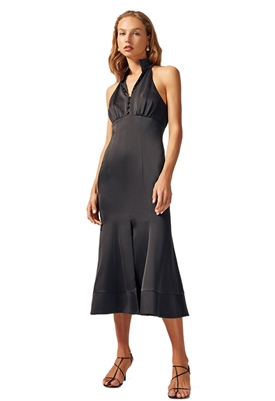 C/Meo Collective Provided Midi Dress in Black