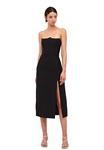C/Meo Collective Beyond Control Midi Dress in Black