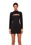 C/Meo Collective Eleventh Hour Mini Dress in Black