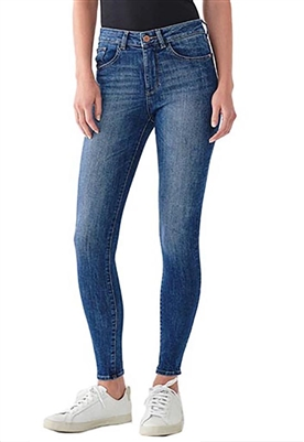 DL1961 Florence Mid Rise Skinny Jean in Parker