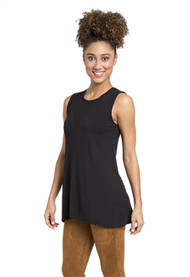Lysse Riviera Tank in Black