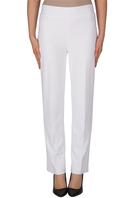 Joseph Ribkoff Slip On  Pant in White