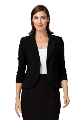 Joseph Ribkoff 3/4 Sleeve Blazer in Black