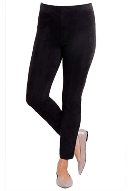 c57a7ac6a2d24 ... Faux Suede Legging in Black · Larger Photo ...